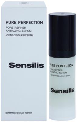 Sensilis Pure Perfection Antifalten Serum strafft die Haut und verfeinert Poren 2