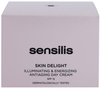 Sensilis Skin Delight protivráskový krém pro rozjasnění a vitalitu pleti SPF 15 3