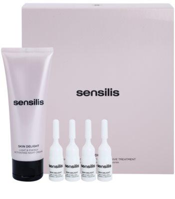 Sensilis Skin Delight kompleksowa kuracja rozjaśniająca na noc