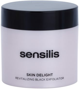 Sensilis Skin Delight rozjasňující peeling s aktivním uhlím pro rozjasnění pleti