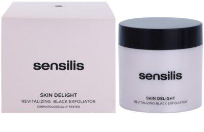 Sensilis Skin Delight rozjasňujúci peeling s aktívnym uhlím pre rozjasnenie pleti 2