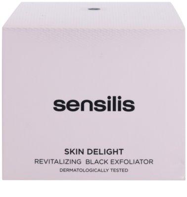 Sensilis Skin Delight rozjasňujúci peeling s aktívnym uhlím pre rozjasnenie pleti 3