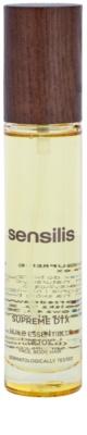Sensilis Supreme DTX regeneračný olej s detoxikačným účinkom na tvár, telo a vlasy