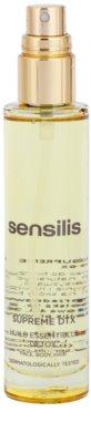 Sensilis Supreme DTX regenerierendes Öl mit Detox-Effekt für Gesicht, Körper und Haare 1