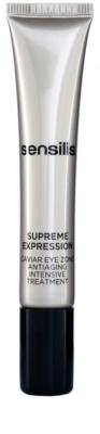 Sensilis Supreme Expression szem maszk a ráncok, duzzanat és sötét karikák ellen