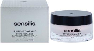 Sensilis Supreme Daylight regenerierende Creme gegen Falten SPF 15 2