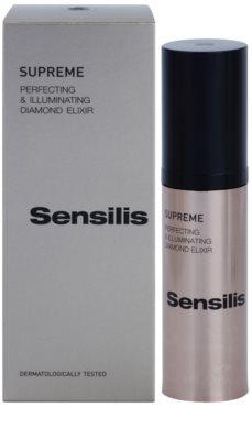 Sensilis Supreme eliksir rozjaśniający z efektem przeciwzmarszczkowym 2