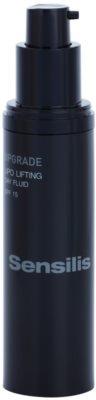 Sensilis Upgrade ремоделиращ флуид с лифтинг ефект против проявите на стареене на кожата SPF 15 1