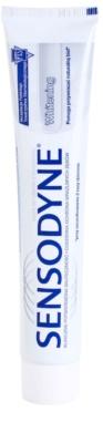 Sensodyne Whitening dentífrico branqueador para dentes sensíveis