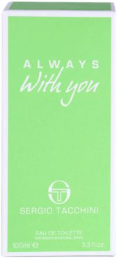 Sergio Tacchini Always With You eau de toilette nőknek 4