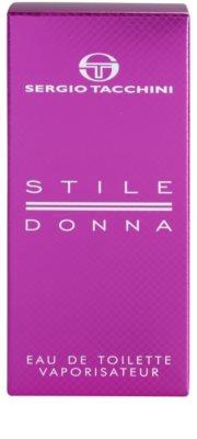 Sergio Tacchini Stile Donna Eau de Toilette für Damen 4