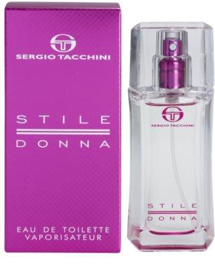 Sergio Tacchini Stile Donna Eau de Toilette für Damen
