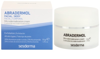Sesderma Abradermol crema pentru exfoliere pentru regenerarea celulelor pielii 2