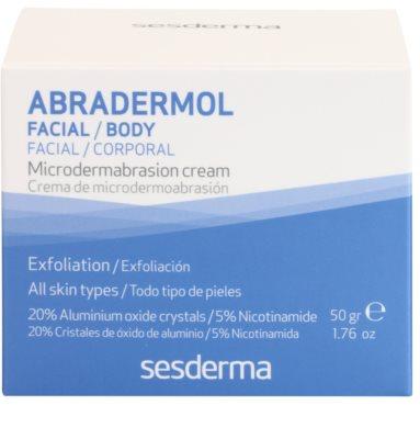 Sesderma Abradermol crema pentru exfoliere pentru regenerarea celulelor pielii 3