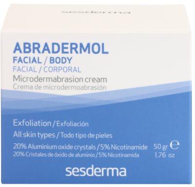Sesderma Abradermol creme peeling para renovação de células cutâneas 3