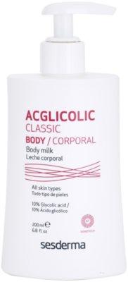 Sesderma Acglicolic Classic Body leche corporal reafirmante con efecto exfoliante