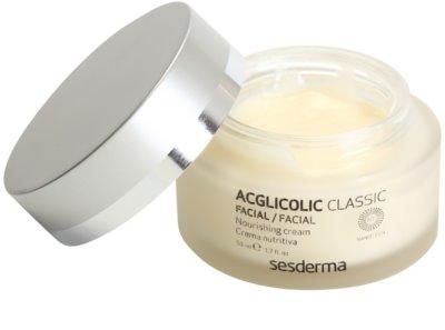 Sesderma Acglicolic Classic Facial nährende und verjüngende Creme für trockene bis sehr trockene Haut 1