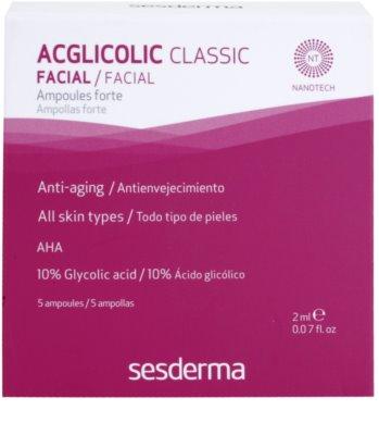 Sesderma Acglicolic Classic Facial sérum pro komplexní protivráskovou péči 2