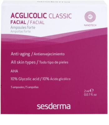 Sesderma Acglicolic Classic Facial Ser de ingrijire complex anti-rid 2