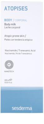 Sesderma Atopises hydratisierende Körpermilch für atopische Haut 2