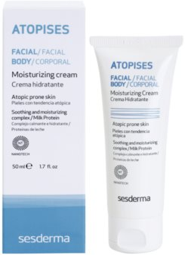 Sesderma Atopises Feuchtigkeitscreme für atopische Haut 1