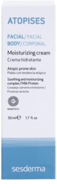 Sesderma Atopises Feuchtigkeitscreme für atopische Haut 2