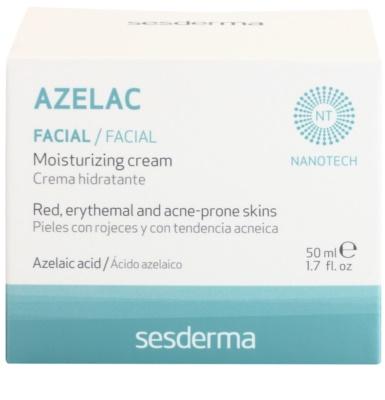 Sesderma Azelac Feuchtigkeitscreme gegen die Unvollkommenheiten der Haut 3