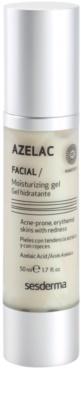 Sesderma Azelac gel hidratante para pequenos derrames no rosto