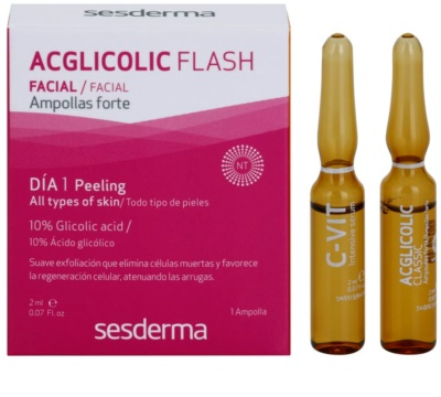 Sesderma C-Vit + Acglicolic Flash zestaw kosmetyków I. 1