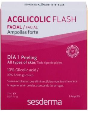 Sesderma C-Vit + Acglicolic Flash zestaw kosmetyków I. 3