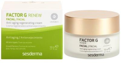 Sesderma Factor G Renew crema regeneradora con factor de crecimiento 2