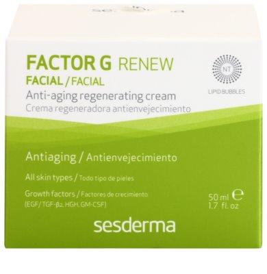 Sesderma Factor G Renew regenerierende Creme mit Wachstumsfaktor 3