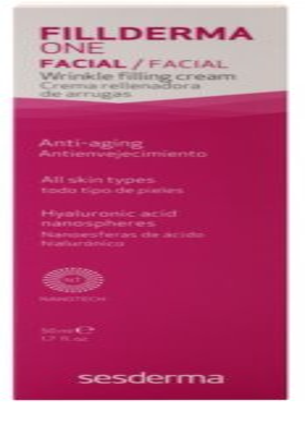 Sesderma Fillderma One krém na vyplnění hlubokých vrásek a zpevnění pleti s kyselinou hyaluronovou 3
