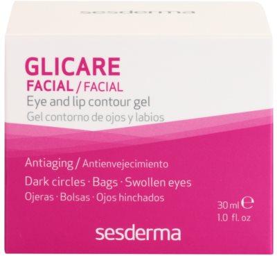 Sesderma Glicare gél a ráncok ellen a szemek és az ajkak körül 3