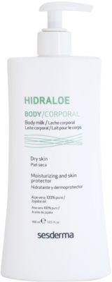 Sesderma Hidraloe hydratisierende Körpermilch für trockene Haut