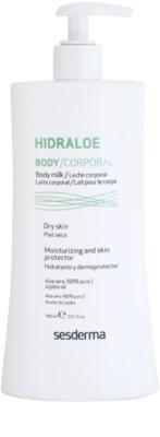 Sesderma Hidraloe leite corporal hidratante para pele seca