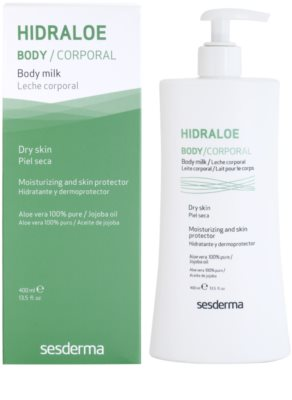 Sesderma Hidraloe hydratačné telové mlieko pre suchú pokožku 1