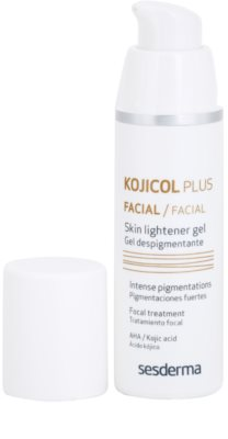 Sesderma Kojikol Plus gel de despigmentación intensivo para el tratamiento local 1