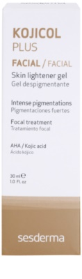 Sesderma Kojikol Plus gel de despigmentación intensivo para el tratamiento local 3