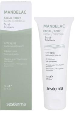 Sesderma Mandelac exfoliant delicat si hidratant pentru piele sensibila 1