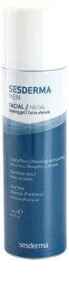 Sesderma Men gel za britje s pomirjevalnim učinkom za občutljivo kožo