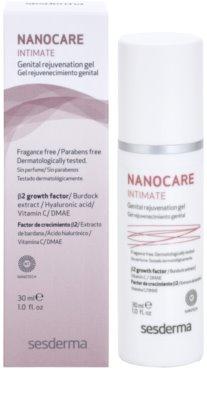 Sesderma Nanocare Intimate omlazující gel na intimní partie 2