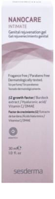 Sesderma Nanocare Intimate omlazující gel na intimní partie 3