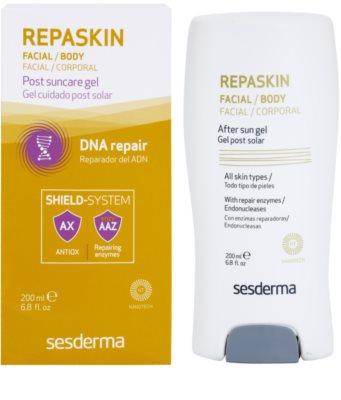 Sesderma Repaskin After Sun hydratační tělový gel po opalování 1
