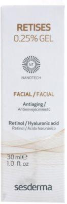 Sesderma Retises obnovitvena gel krema z retinolom in hialuronsko kislino 2