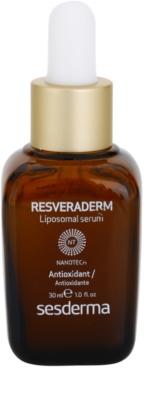 Sesderma Resveraderm antioxidáns szérum a bőr felszínének megújítására