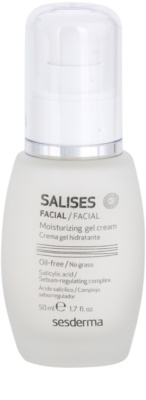 Sesderma Salises creme gel hidratante para pele oleosa propensa a acne