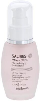 Sesderma Salises gel hidratant pentru tenul gras, predispus la acnee