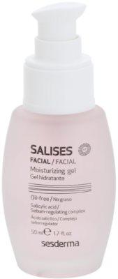 Sesderma Salises gel hidratante para pele oleosa propensa a acne 1
