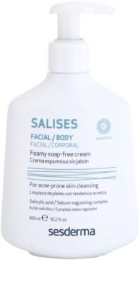 Sesderma Salises gel limpiador antibacteriano para rostro y cuerpo